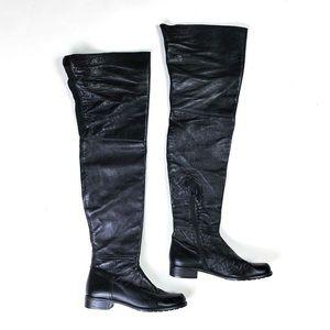 Stuart Weitzman Shoes - Stuart Weitzman Tall Boots Leather Over the Knee